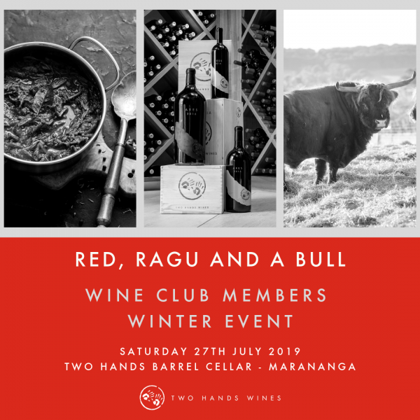 Red, Ragu and a Bull